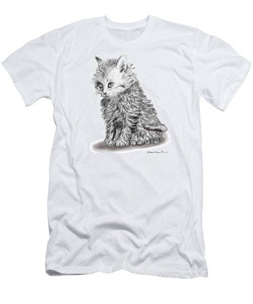 Kitten #1 Men's T-Shirt (Athletic Fit)