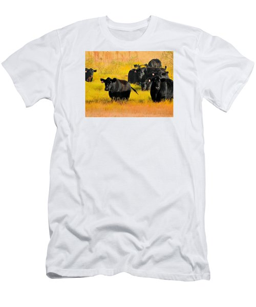 Knee High In Color Men's T-Shirt (Slim Fit) by Laura Ragland