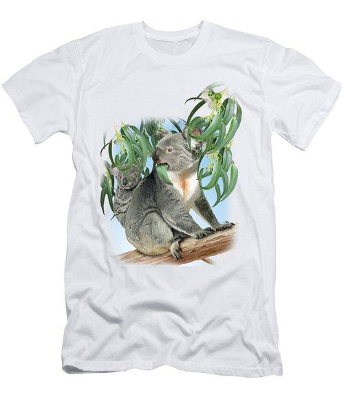 Koala Men's T-Shirt (Slim Fit) by Vladimir Timokhanov