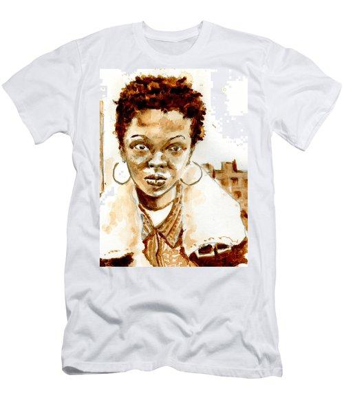 L Boogie Men's T-Shirt (Slim Fit) by Howard Barry