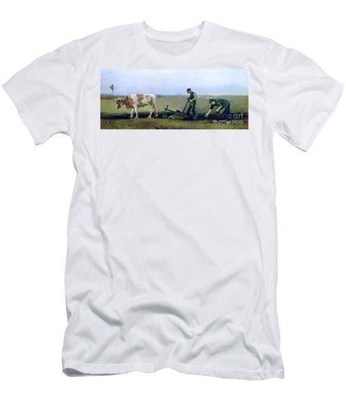 Labourer And Peasant  Men's T-Shirt (Athletic Fit)