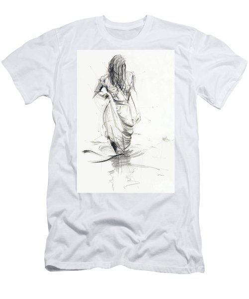 Lady In The Waters Men's T-Shirt (Athletic Fit)
