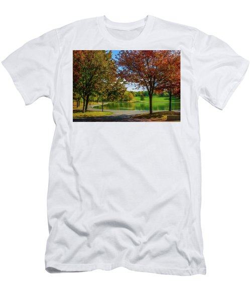 Lagoon Park In Montreal Men's T-Shirt (Athletic Fit)