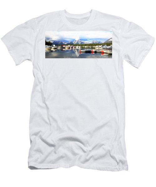 Lake Jackson Men's T-Shirt (Slim Fit) by Lam Tran