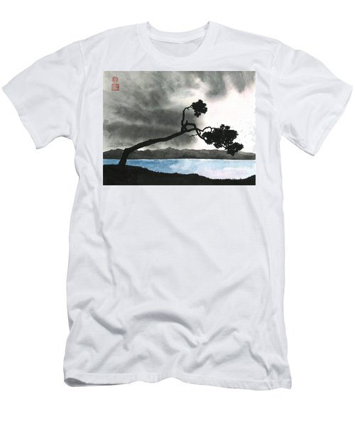 Lake Kussharo Men's T-Shirt (Athletic Fit)
