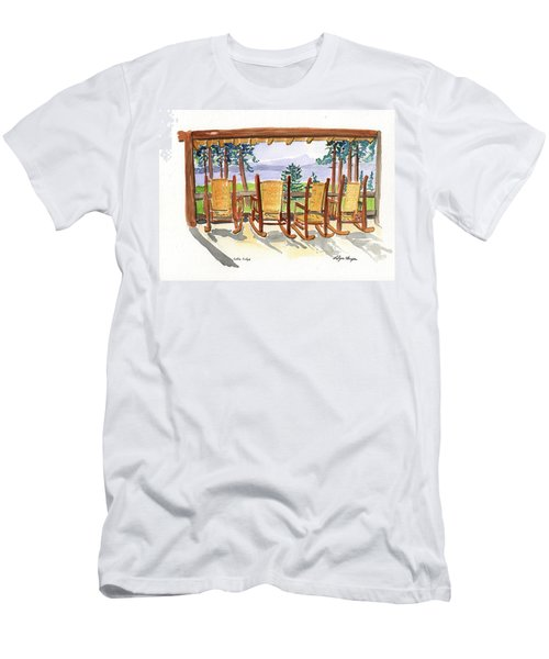 Lake Lodge Men's T-Shirt (Athletic Fit)