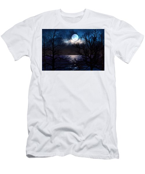 Lake Midnight Men's T-Shirt (Athletic Fit)