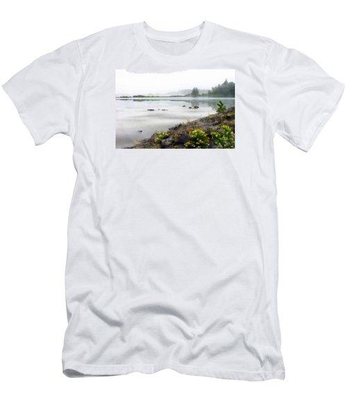Lake Superior Men's T-Shirt (Slim Fit) by Ed Hall