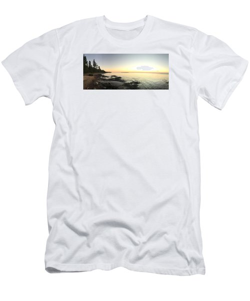 Lake Superior Evening Sky Men's T-Shirt (Athletic Fit)