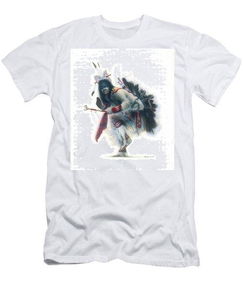 Lakota Dancer Men's T-Shirt (Athletic Fit)