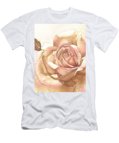 Lalique Rose Men's T-Shirt (Slim Fit) by Sandra Phryce-Jones