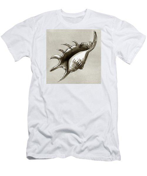 Lambis Shell Men's T-Shirt (Athletic Fit)