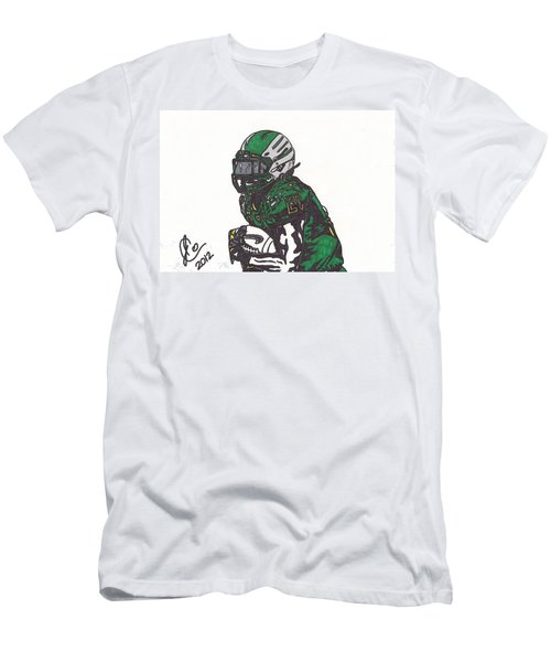 Men's T-Shirt (Slim Fit) featuring the drawing Lamicheal James 1 by Jeremiah Colley