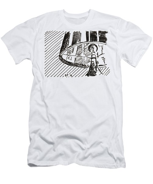 Lamp 1 2015 - Aceo Men's T-Shirt (Athletic Fit)