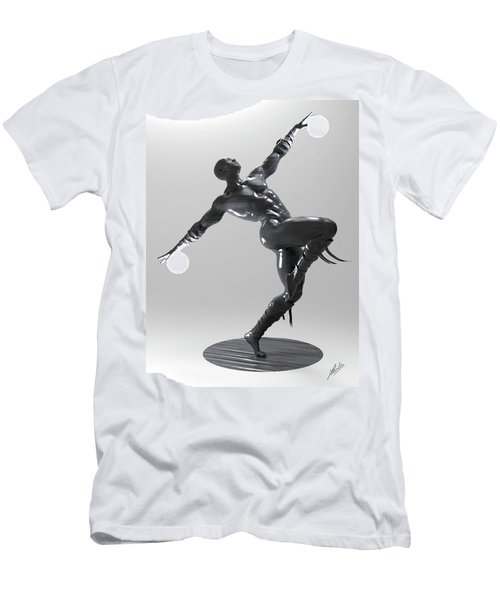 Lamp Man 04 Men's T-Shirt (Athletic Fit)