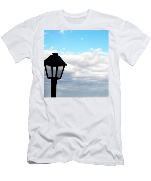 Men's T-Shirt (Athletic Fit) featuring the photograph Lamp Post by W And F Kreations