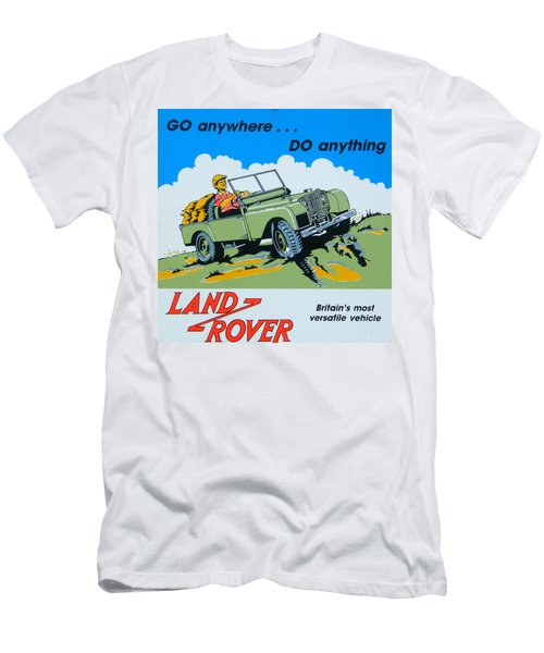Landrover Advert - Go Anywhere.....do Anything Men's T-Shirt (Athletic Fit)