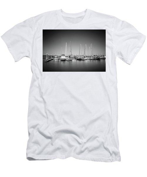 Lands End Marina  Men's T-Shirt (Athletic Fit)