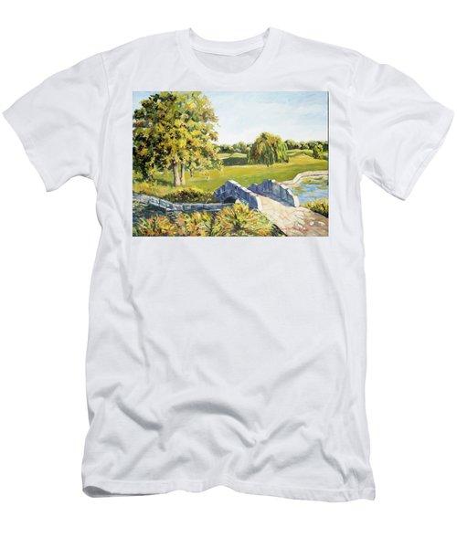 Landscape No. 12 Men's T-Shirt (Athletic Fit)