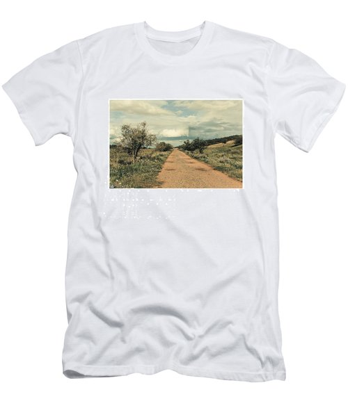 #landscape #stausee #path #road #tree Men's T-Shirt (Athletic Fit)