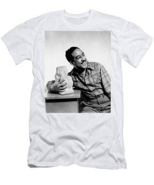Langston Hughes (1902-1967) Men's T-Shirt (Athletic Fit)