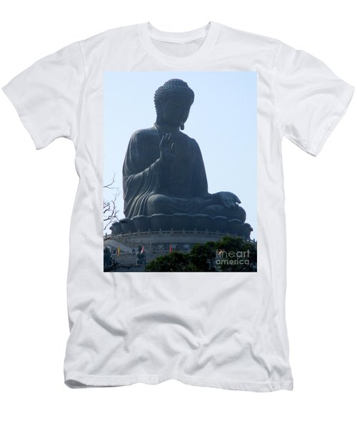 Men's T-Shirt (Slim Fit) featuring the photograph Lantau Island 49 by Randall Weidner