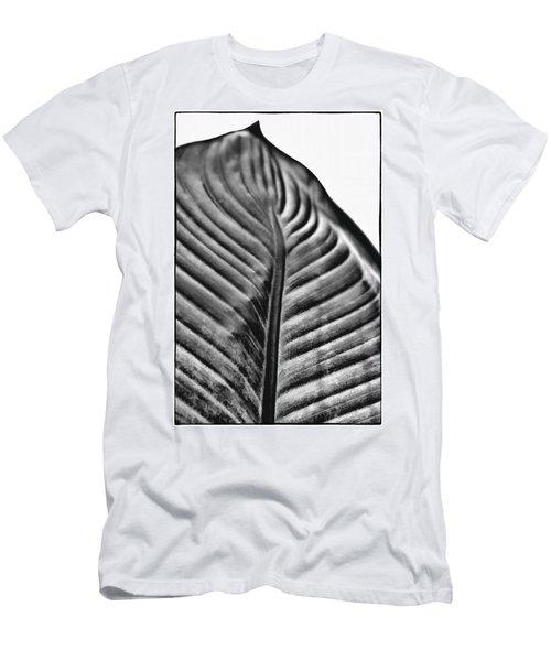 Large Leaf Men's T-Shirt (Athletic Fit)