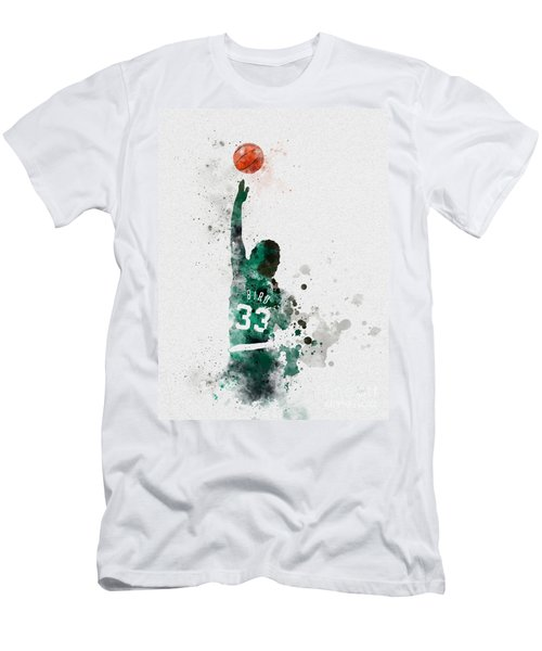 Larry Bird Men's T-Shirt (Athletic Fit)