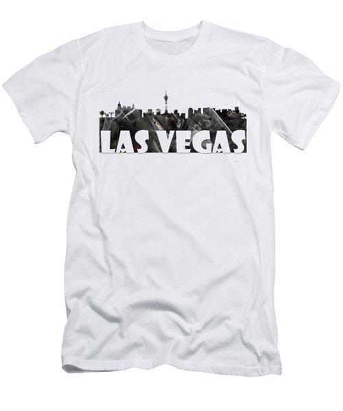 Las Vegas Men's T-Shirt (Athletic Fit)
