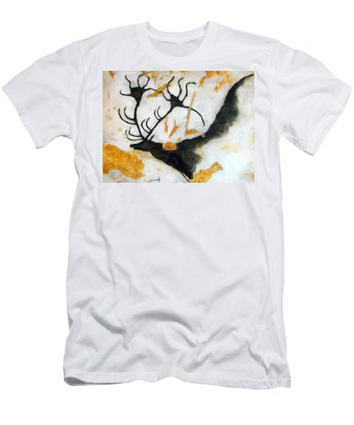 Lascaux Megaceros Deer 2 Men's T-Shirt (Athletic Fit)