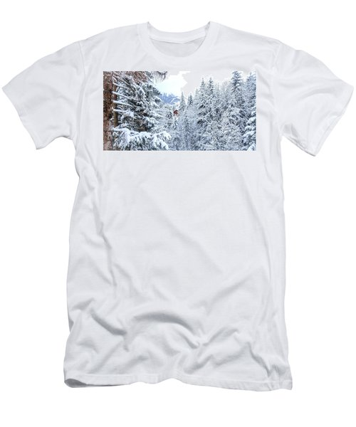 Last Cabin Standing- Men's T-Shirt (Athletic Fit)