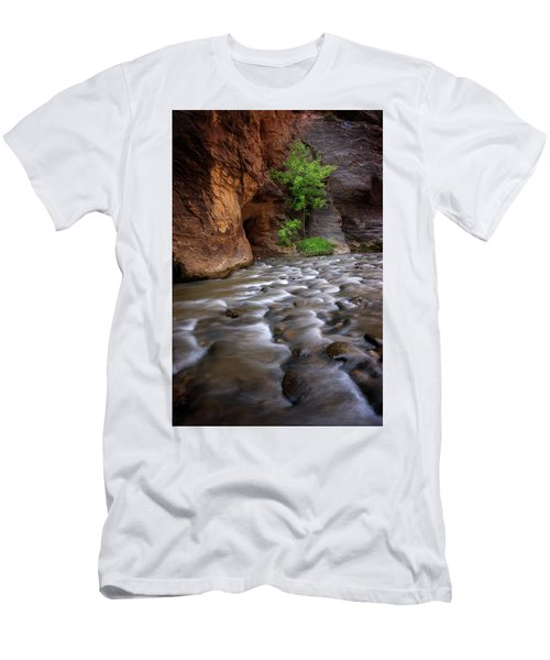 Men's T-Shirt (Slim Fit) featuring the photograph Last Stand by Dustin LeFevre