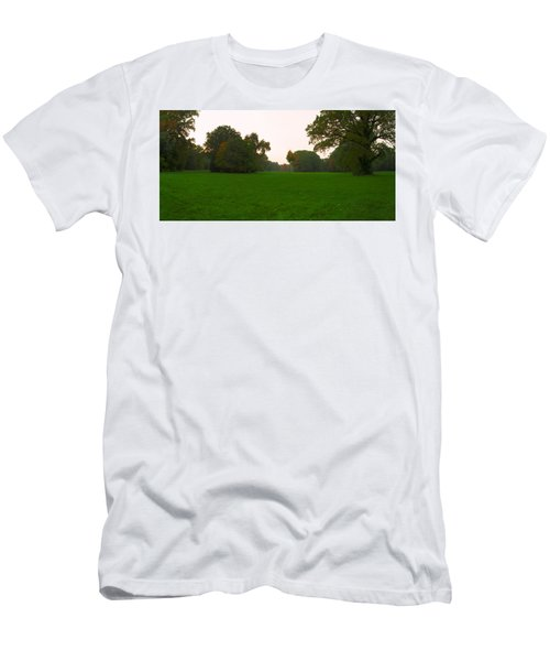 Late Afternoon In The Park Men's T-Shirt (Athletic Fit)