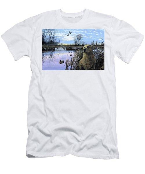 Late Season Mallards Men's T-Shirt (Athletic Fit)