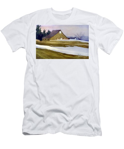 Late Winter Melt Men's T-Shirt (Slim Fit) by Donald Maier