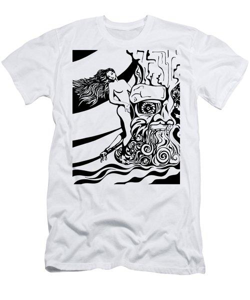 Lava Flow Men's T-Shirt (Athletic Fit)