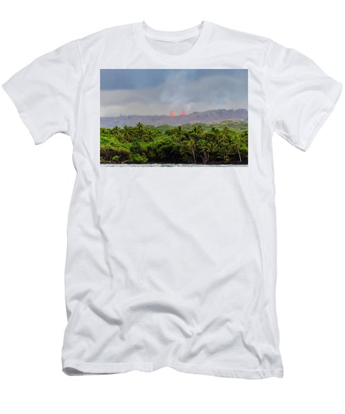 Lava Fountain Men's T-Shirt (Athletic Fit)