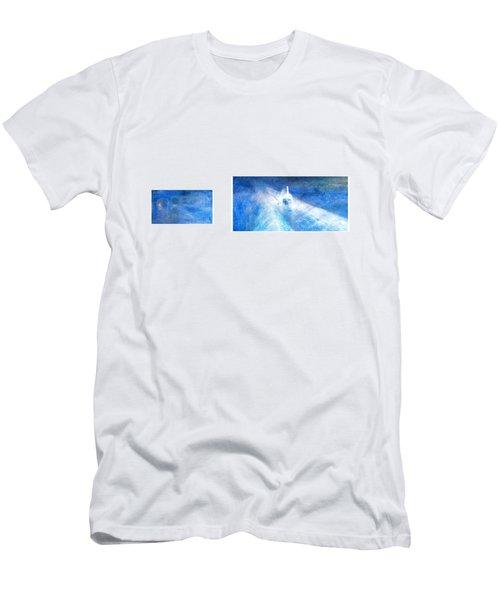 Layered 21 Turner Men's T-Shirt (Slim Fit) by David Bridburg