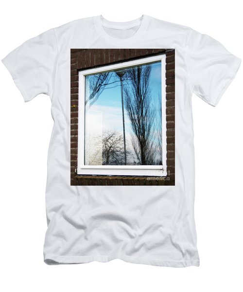 Layers Of Reality Men's T-Shirt (Slim Fit) by Ana Mireles