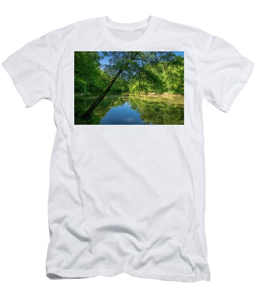 Lazy Summer Day On The River Men's T-Shirt (Athletic Fit)