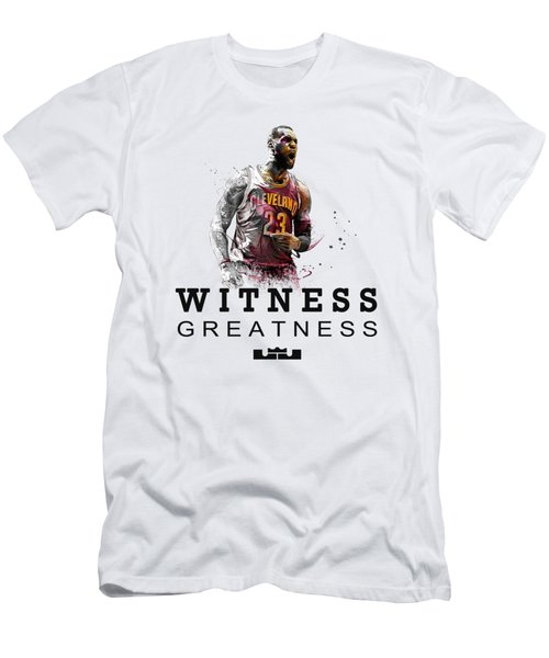 Lbj1 Men's T-Shirt (Athletic Fit)