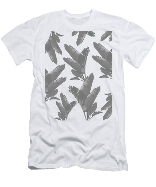 Leaf Pattern Men's T-Shirt (Athletic Fit)