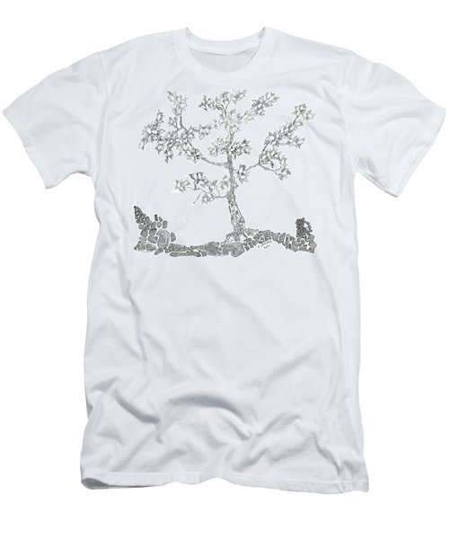 Leafy Jewels Men's T-Shirt (Athletic Fit)