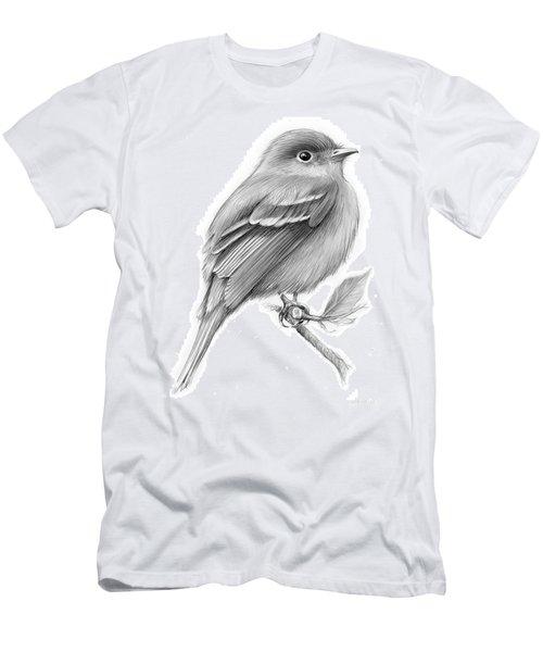Least Flycatcher Men's T-Shirt (Athletic Fit)