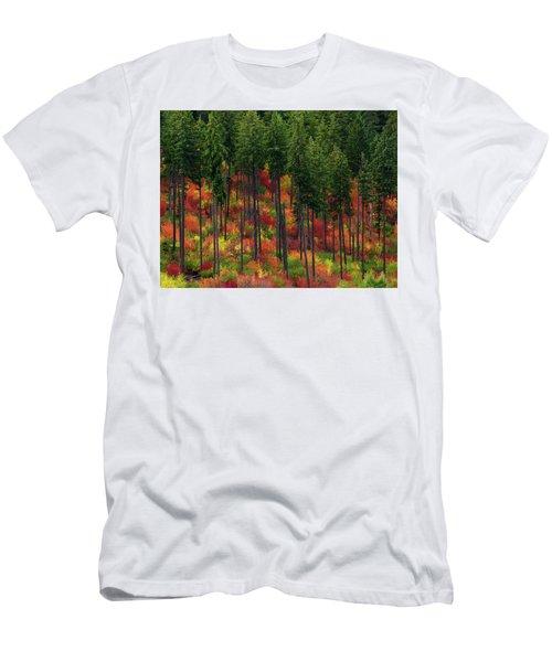 Leavenworth Checkerboard Men's T-Shirt (Athletic Fit)