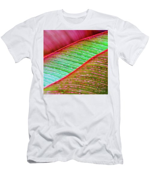 Leaves In Color  Men's T-Shirt (Athletic Fit)