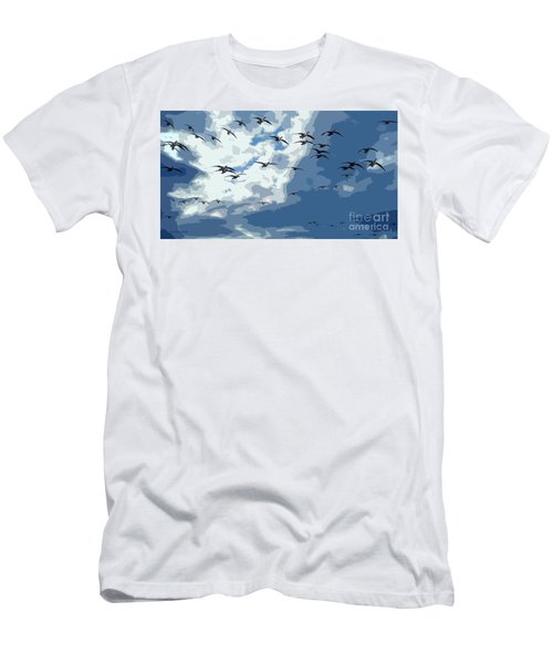 Leaving The Snow Behind Men's T-Shirt (Athletic Fit)