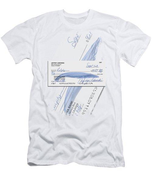 Lebowski's Check Men's T-Shirt (Athletic Fit)