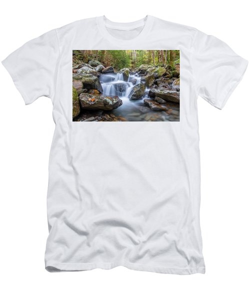 Leconte Creek Watrefall Men's T-Shirt (Athletic Fit)