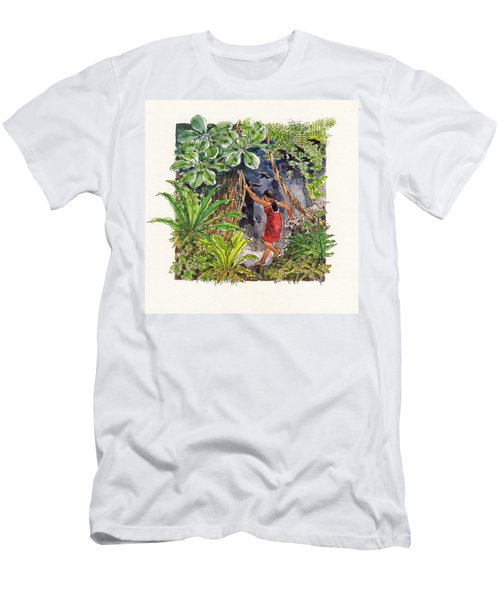 Legend Of The Kopeka Cave Men's T-Shirt (Athletic Fit)